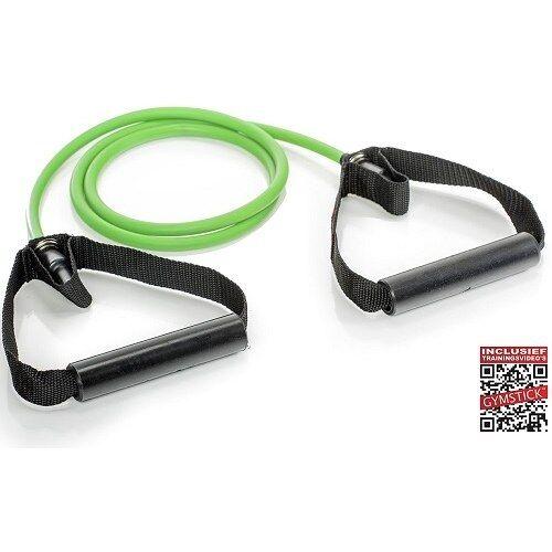 Gymstick Weerstandskabels met Handvaten 1 Weerstandkabel Medium