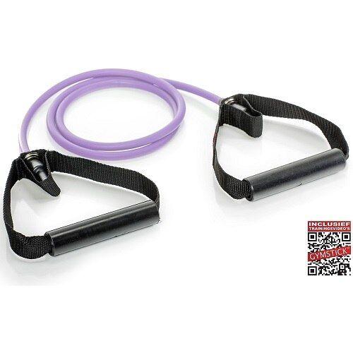 Gymstick Weerstandskabels met Handvaten 1 Weerstandkabel Strong