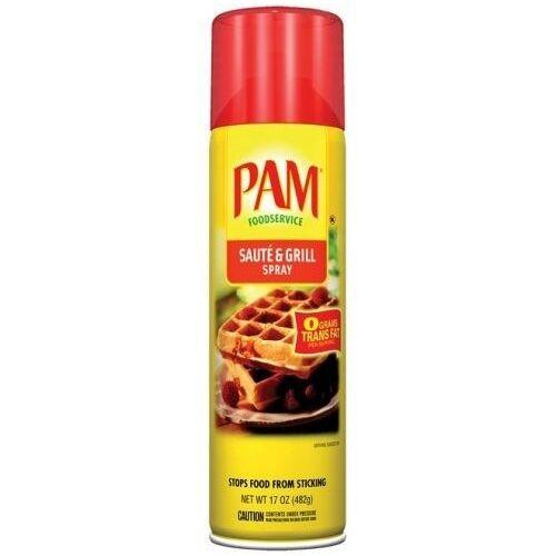 PAM Cooking Spray Saute & Grill Per Bus Saute & Grill