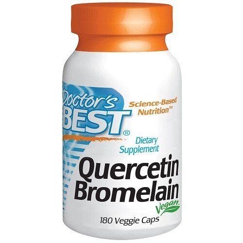Doctor's Best Quercetin Bromelain 180v-caps