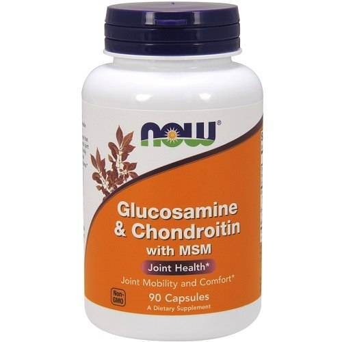 Now Foods Glucosamine & Chondroitin met MSM 90caps