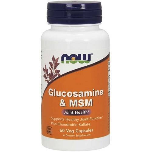 Now Foods Glucosamine & MSM with Chondroitin 60v-caps
