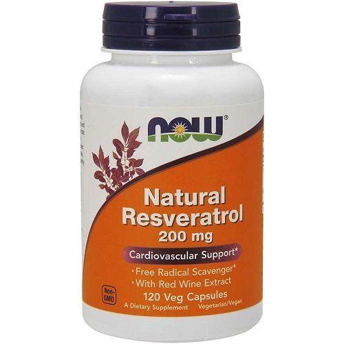 Now Foods Resveratrol  200mg 120caps