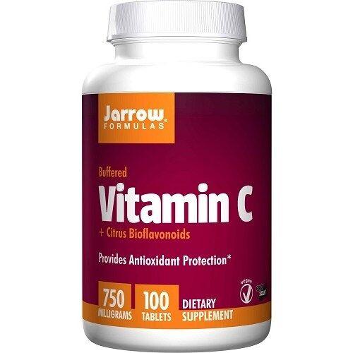 Jarrow Formulas Vitamin C Buffered +  Bioflavonoids 100tabl