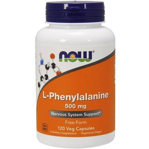 Now Foods L-Phenylalanine 120v-caps