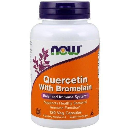 Now Foods Quercetin with Bromelain 120v-caps