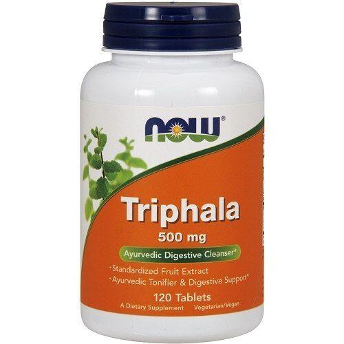 Now Foods Triphala 500mg 120tabl