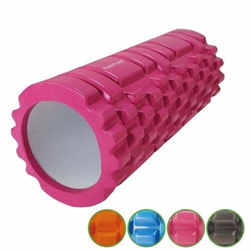 Tunturi Yoga Grid Foam Roller 33cm Pink