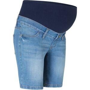 bonprix Dames zwangerschapsshort in blauw - bonprix