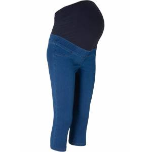 bonprix Dames zwangerschapsjeans in blauw - bonprix