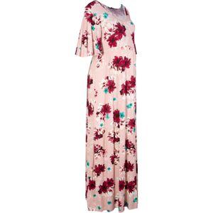 bonprix Dames jersey zwangerschapsjurk korte mouw in roze - bonprix