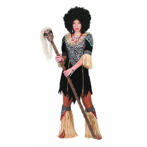 Feestbazaar Afrikaanse vrouw kostuum