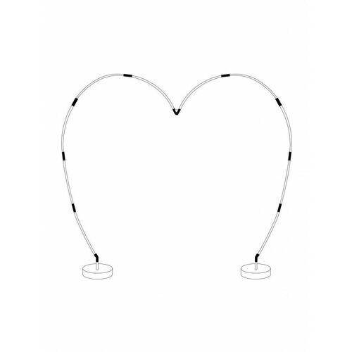 Feestbazaar Ballonboog set hartvorm