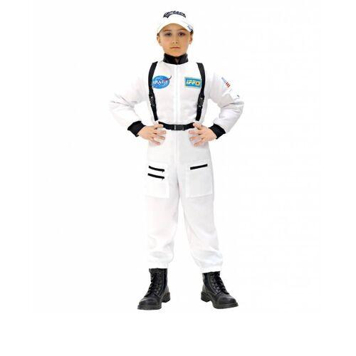 Feestbazaar Ruimtevaart pak kind wit