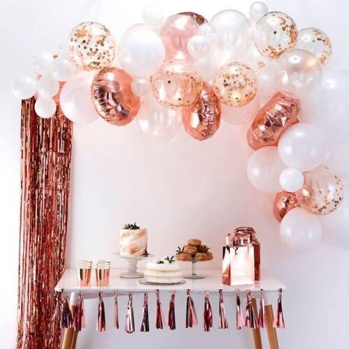 Feestbazaar Luxe ballonboog set Rose goud Premium