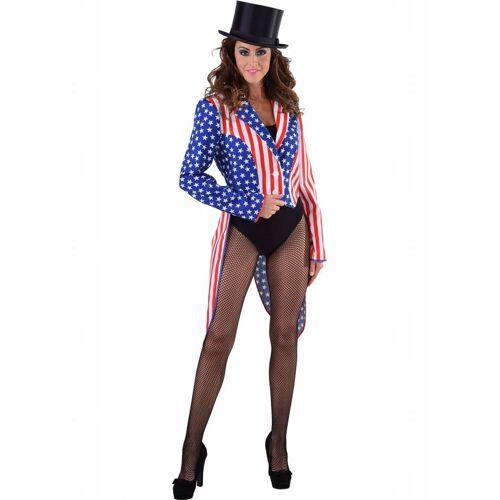 Feestbazaar Slipjas Amerika Stars and Stripes vrouw