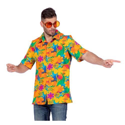 Feestbazaar Tropische blouse bloemen
