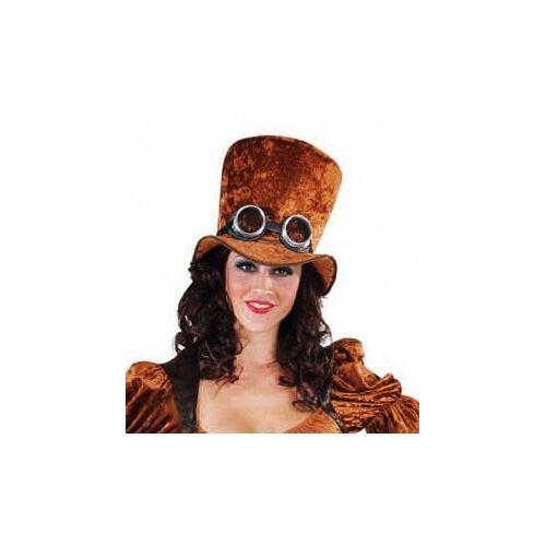 Feestbazaar Hoge hoed Steampunk elite