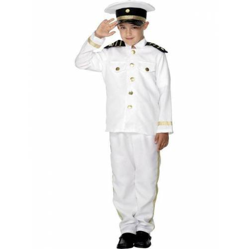 Feestbazaar Kapiteins kostuums kind 3-delig