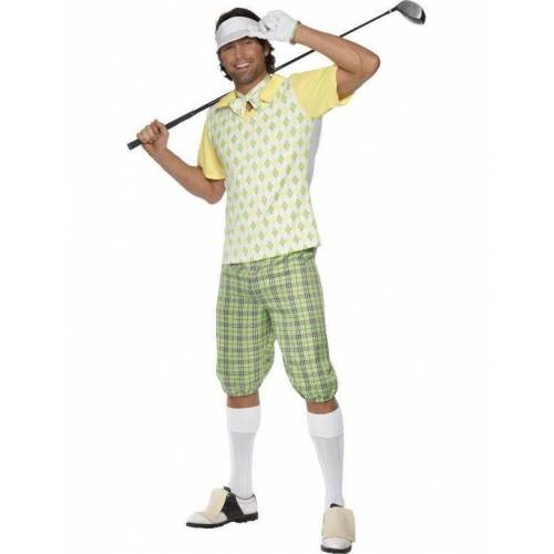 Feestbazaar Golf carnavalspak man