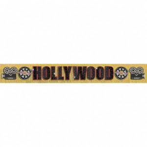 Feestbazaar Hollywood glitter Banner