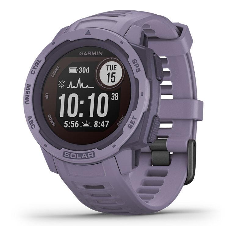 Garmin GPS-horloge Instinct Solar - Coral