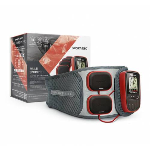 Sport-Elec MultiSport Pro Elektrostimulator + Ergonomische Buikriem