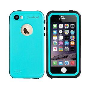 CaseProof waterproof waterdicht hoesje blauw iPhone 5 5s SE - Turquoise