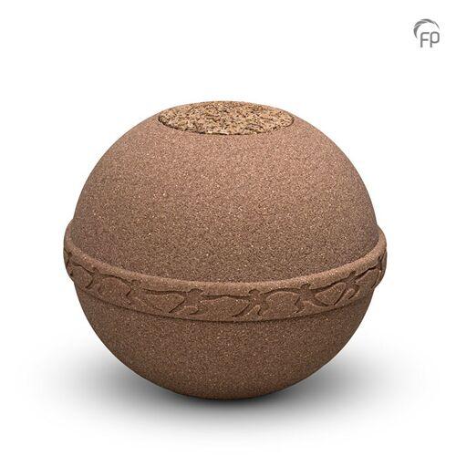 Biologische urn van zand: Samsara