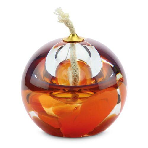 Urn met olielamp en kleine askamer: orange/rose (80ml)