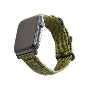 Apple Urban Armor Gear Nato Apple Watch 44MM / 42MM Bandje Olive