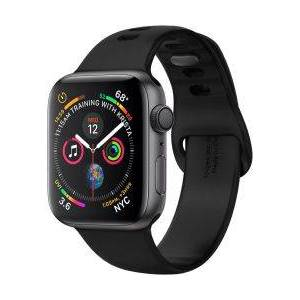 Apple Spigen Air Fit Apple Watch 44MM / 42MM Bandje Siliconen Zwart