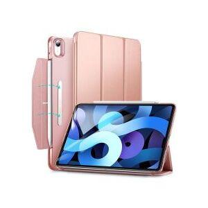 Apple ESR Ascend Apple iPad Air (2020) Hoes Tri-Fold Book Case Roze