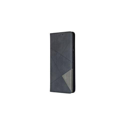 Samsung Galaxy A42 Hoesje Geometrie Portemonnee Zwart