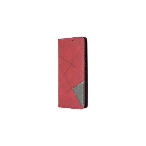Samsung Galaxy A42 Hoesje Geometrie Portemonnee Rood