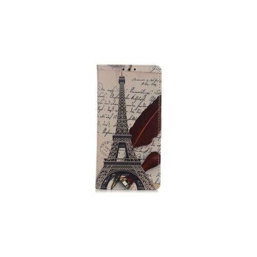 Motorola Moto G10 / G20 / G30 Hoesje Portemonnee met Eiffeltoren Print