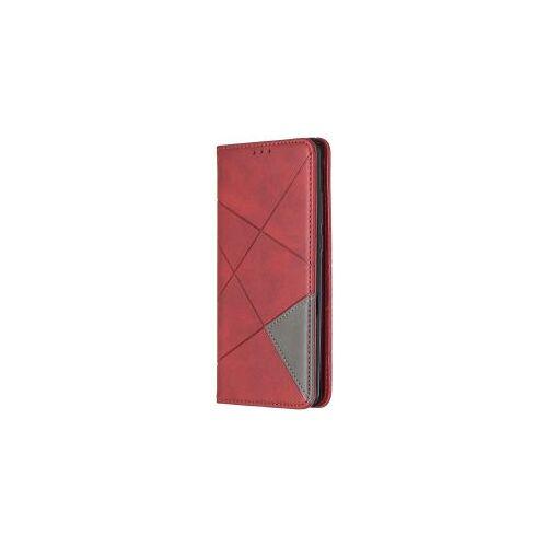Huawei P30 Pro Hoesje Geometrie Portemonnee Rood