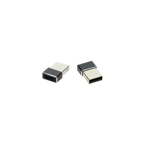 4smarts USB-A naar USB-C Converter/Adapter Zwart