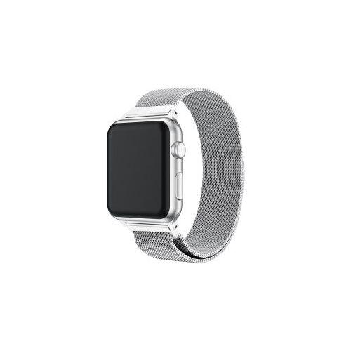 Apple Watch 40MM / 38MM Bandje Milanese Roestvrij Staal Zilver