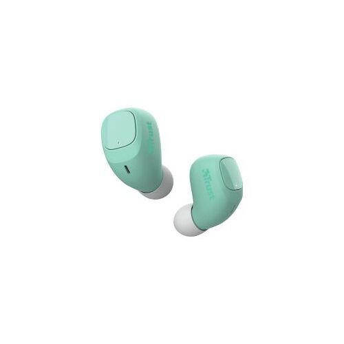 Trust Nika Compact Bluetooth Wireless Earphones Mint