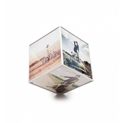 Balvi Foto kubus draaiend Kube - 10 x 10 foto's
