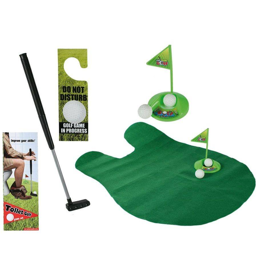 Out of the Blue toilet golf set
