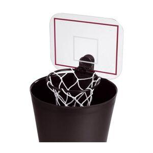 Balvi basketbalnet Shoot met geluid voor op prullenbak kunststof