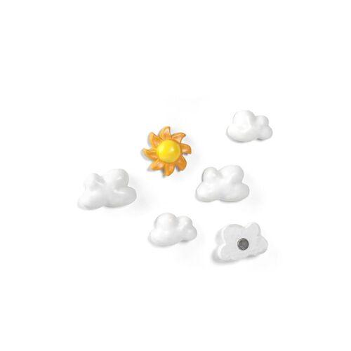 Trendform magneten wolken en de zon