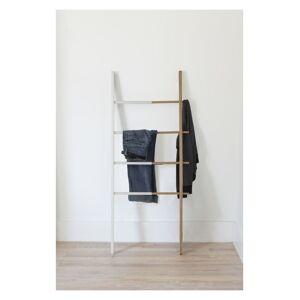 Umbra uitschuifbaar rek Ladder Hub hout - Wit - Naturel