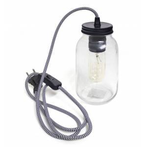 Balvi hanglamp weckpot Light Jar glas