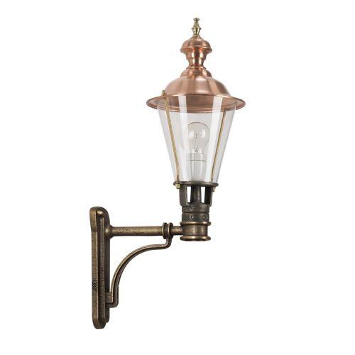 KS Verlichting Bronzen wandlamp Glennos