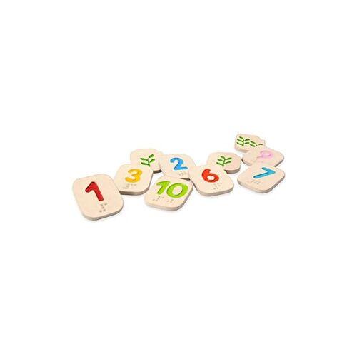 PlanToys Plan Toys houten braille nummers 1-10