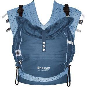 Snoozebaby Kiss & Carry draagzak/sling combinatie - Indigo Blue