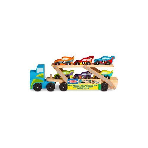 Melissa & Doug Extragrote Vracht-Wagen Met Raceauto's